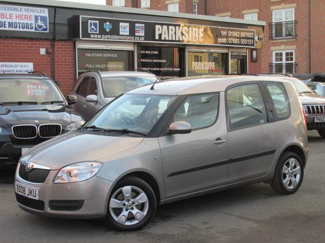 2008 (08) skoda roomster 1.6 2 16v 5dr automatic | in atherton