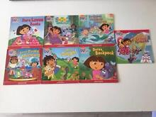 Dora The Explorer 7 books Naremburn Willoughby Area Preview