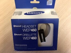 SAMSUNG Headset WEP 460    Bluetooth