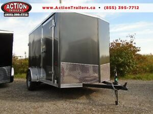 GREAT PRICE, GREAT TRAILER! - 6X10 HAULIN WITH WEDGE NOSE London Ontario image 1