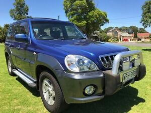 2002 Hyundai Terracan HP Highlander Blue 4 Speed Automatic Wagon Somerton Park Holdfast Bay Preview