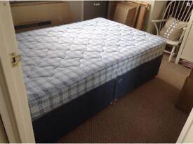 3/4 bed base and mattress