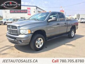 2005 Dodge Ram 3500 SLT/Laramie 4x4 Quad Cab 6.5' Short Box 5.9