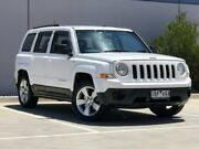 2014 Jeep Patriot MK MY14 Sport CVT Auto Stick 4x2 White 6 Speed Constant Variable Wagon Ravenhall Melton Area Preview