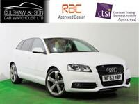 AUDI A3 2.0 SPORTBACK TDI S LINE SPECIAL EDITION 5DR Manual IN WHITE with 38k mi