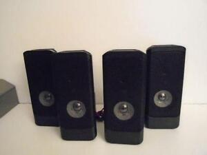RCA FRONT AND REAR SPEAKERS (4)