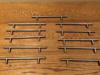 11 cupboard door handles 23cm
