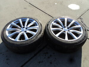2 Nexen All Season Tires with Alloy Rims for 2008-2010 Infiniti