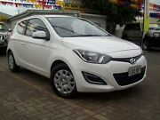 2012 Hyundai i20 PB MY12.5 Active White 6 Speed Manual Hatchback Evanston South Gawler Area Preview