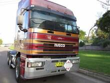 Iveco, Eurostar 5500 6x4 sleeper cab prime mover, S60 18spd RR Wollongong 2500 Wollongong Area Preview