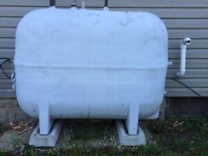 Fibreglass Furnace Oil Tank 900litres
