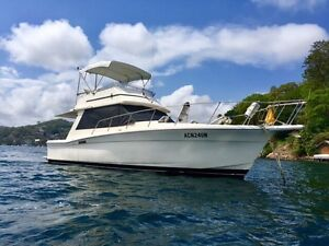 Mariner 3400 Fly Bridge Cruiser Seaforth Manly Area Preview