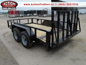 Scissor lift/sky jack trailer - low profile equipment 5 ton