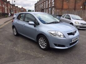 toyota auris t3 vvt mot06/07/19lady owner from last 3 years