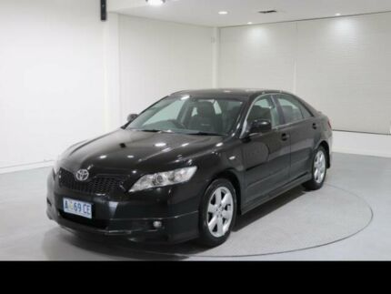 2007 Toyota Camry ACV40R Sportivo Black 5 Speed Automatic Sedan Invermay Launceston Area Preview