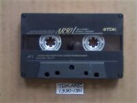 £3 & FREE P&P, GUARANTEED TDK AR 50 PREMIUM CASSETTE TAPES 1990-1991 W/ CARDS CASES LABELS