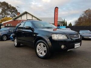2004 Ford Territory SX Ghia (4x4) Black 4 Speed Auto Seq Sportshift Wagon Mount Hawthorn Vincent Area Preview