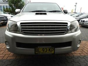 2006 Toyota Hilux KUN16R SR Silver 5 Speed Manual Dual Cab Pick-up Croydon Burwood Area Preview