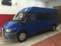 Ford Other 2.4 DIESEL MANUAL MINIBUS (blue) 2002