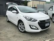 2013 Hyundai i30 GD Active Tourer White 6 Speed Manual Wagon North Hobart Hobart City Preview