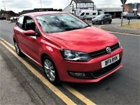 VW Volkswagen Polo SEL 1.6 TDI Red - 145bhp 2011