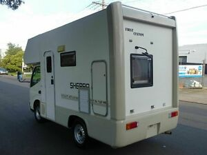 2002 Toyota 200 Series Toyota Camroad White Motor Camper 2WD Taren Point Sutherland Area Preview