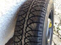 Wheel with Goodyear Tyre - Unused