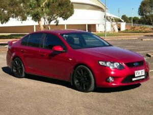 2008 Ford Falcon FG XR6 Red 5 Speed Sports Automatic Sedan Gepps Cross Port Adelaide Area Preview