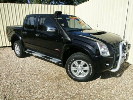 2007 Holden Rodeo RA MY08 LT Crew Cab Black Automatic Utility Parramatta Park Cairns City Preview