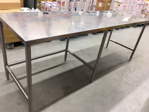 Stainless Steel Work / Prep Table for Sale!
