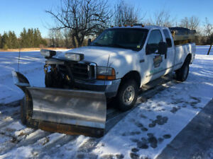 FORD F 350 WITH OR WITHOUT FISHER V PLOW
