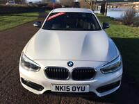 2015 15 BMW 1 SERIES 1.5 116D SPORT 5D 114 BHP DIESEL