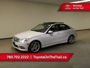 2011 Mercedes Benz C-Class C 350; AWD, LEATHER, PANORAMIC SUNROO