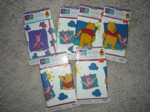 POOH BORDER--SIX PACKS  PREPASTED--STRIPPABLE-WASHABLE--5 YRDS EACH-SO CUTE!!!
