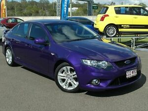 2011 Ford Falcon FG Upgrade XR6 Purple 6 Speed Auto Seq Sportshift Sedan Wacol Brisbane South West Preview