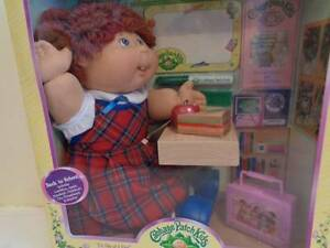 CABBAGE PATCH KIDS DOLL BACK TO SCHOOL NEVER OPENED RARE COLLECT Como South Perth Area Preview