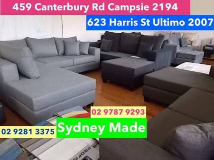 BRAND NEW BIG DISCOUNTED SOFAS / AUSTRALIAN MADE Glebe Inner Sydney Preview
