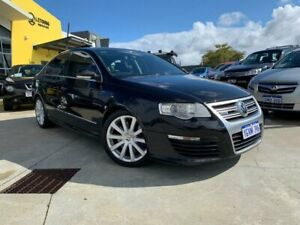 2009 Volkswagen Passat Type 3C MY09 R36 DSG 4MOTION Black 6 Speed Sports Automatic Dual Clutch Sedan Welshpool Canning Area Preview