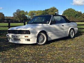BMW E30 325 Sport Cabriolet M-Tec Bodykit and Alpina Alloys..
