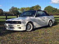 BMW E30 325 Sport Cabriolet M-Tec Bodykit and Alpina Alloys..