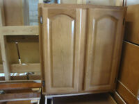 NEW OAK KITCHEN CABINETS