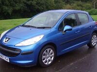 PEUGEOT 207 1.4i S , 2007 , ------ 38000 Miles ------ , Full Service History , Immaculate Condition