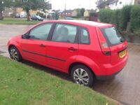 Ford Fiesta 1.3 Petrol 52 Plate Full Service history 1 Months M.O.T Low Millag 95,000