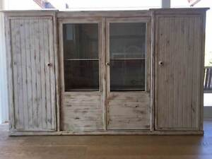 Attractive distressed timber drinks or storage cabinet North Narrabeen Pittwater Area Preview