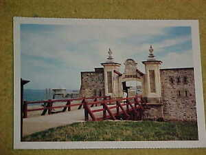 vintage post card FORTRESS OF LOUISBOURGH Cape Briton N.S.