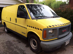 Pressure Washing Van GMC Savana 2500