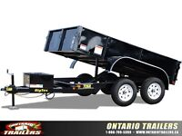 Big Tex 70SR Tandem Axle Single Ram Dump