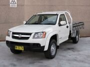 2011 Holden Colorado RC MY11 LX (4x2) White 4 Speed Automatic Cab Chassis Revesby Bankstown Area Preview