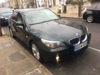 BMW 5 SERIES 530D AUTOMATIC DIESEL SUNROOF+BLINDS+BLUETOOTH+LEATHER