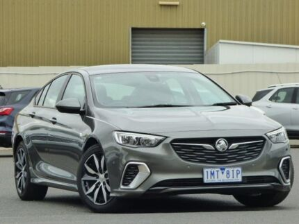 2018 Holden Commodore ZB MY18 RS Liftback Grey 9 Speed Sports Automatic Liftback Sunbury Hume Area Preview